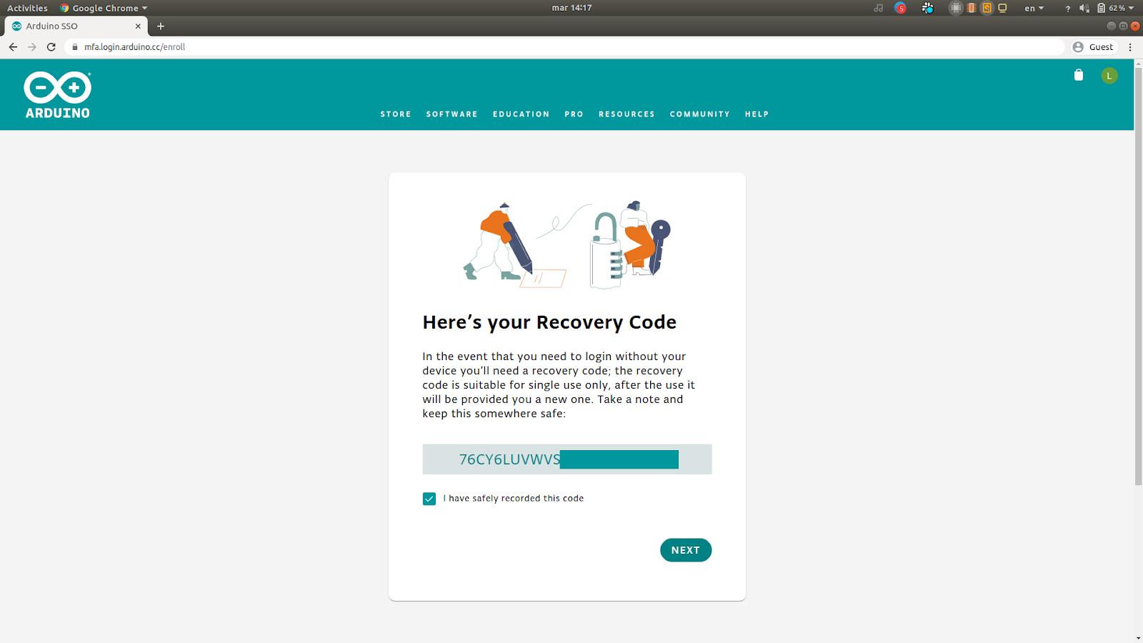 RecoveryCode2FA