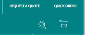 'Request a quote' button