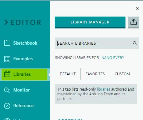 Library Tab