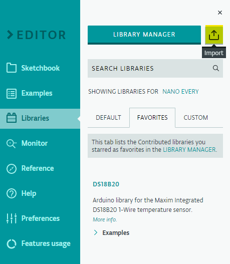 Import Library